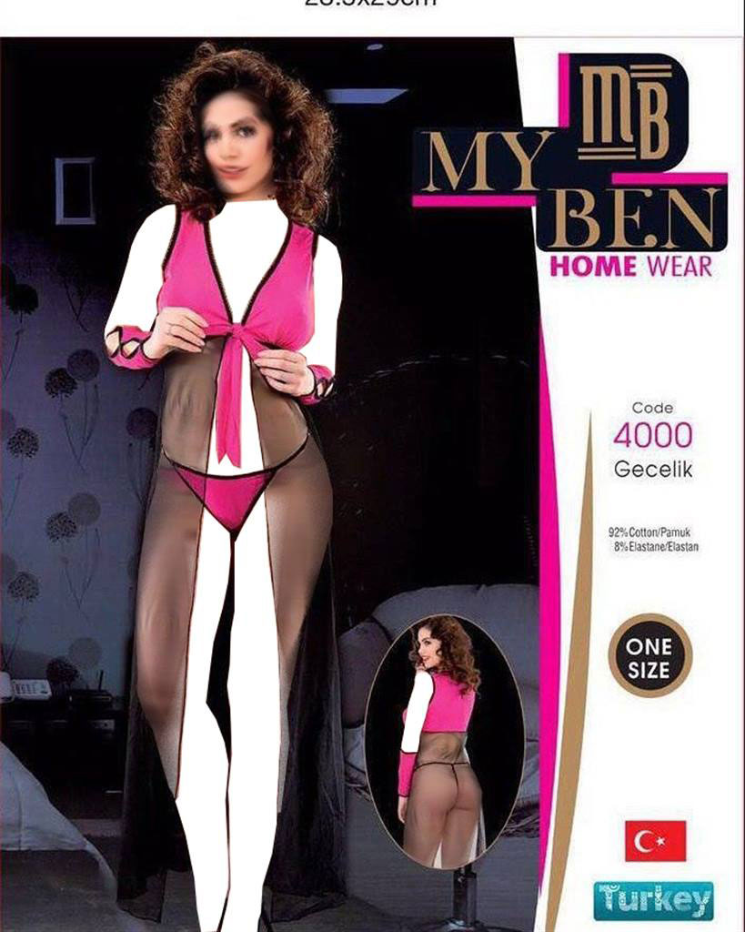 لباس خواب زنانه ترک - 4000 My Ben |