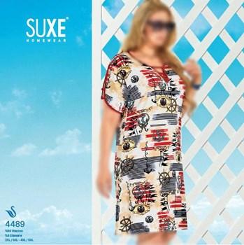 تصویر تونیک سایز بزرگ زنانه ترک -Suxe 4489